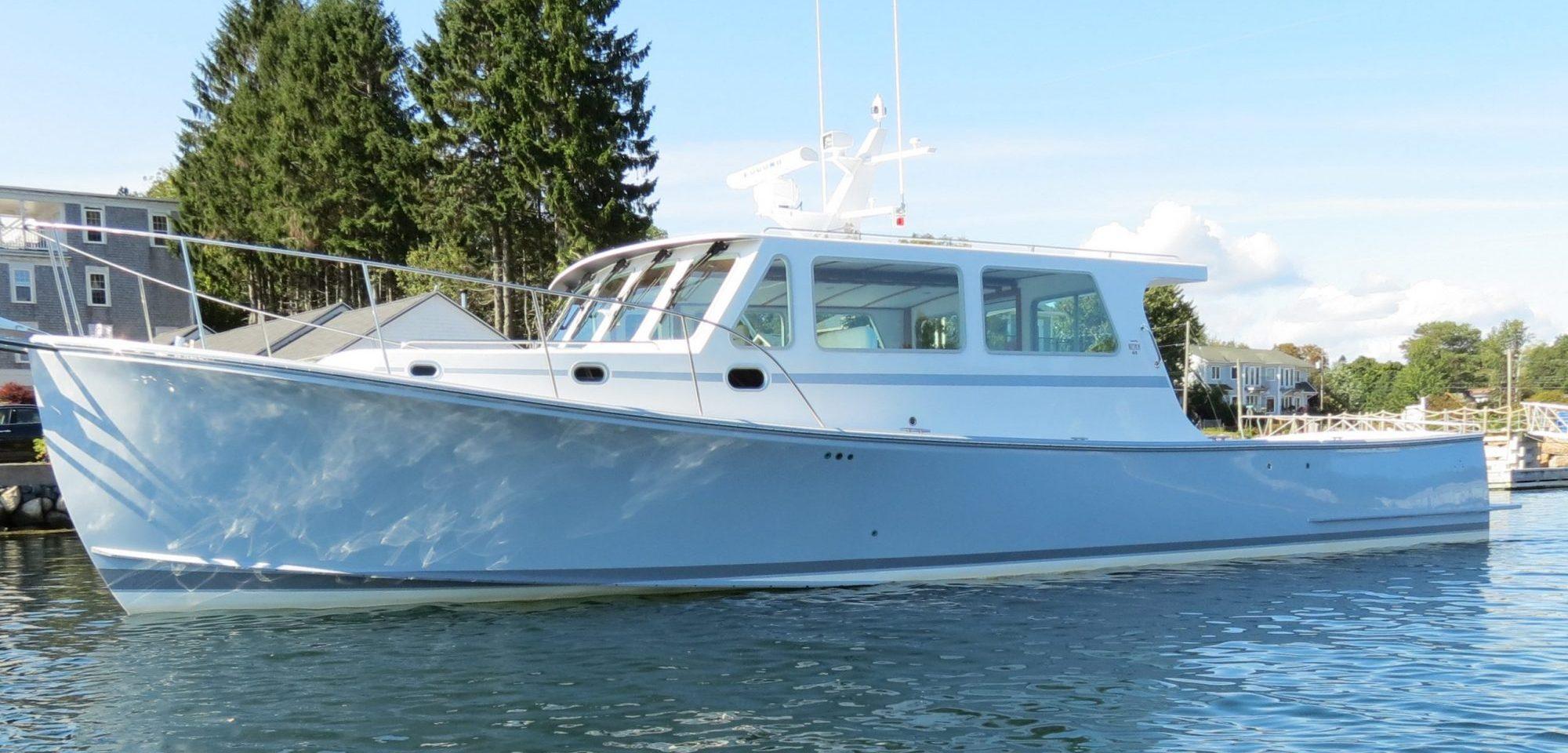 Wesmac cruiser docked